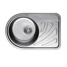 Кухонная мойка Haiba 67x44 SATIN