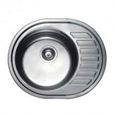 Кухонная мойка Haiba 57x45 SATIN