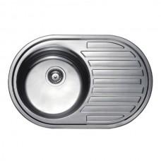 Кухонная мойка Haiba 77х50 SATIN