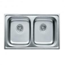 Кухонная мойка Haiba 78x43 DOUBLE SATIN