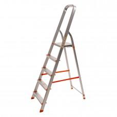 Стремянка алюминиевая Laddermaster Alcor A1A5. 5 ступенек