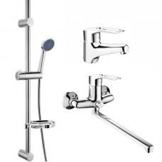 Комплект змішувачів для ванної CRON HANSBERG SET-3 (CR0844)