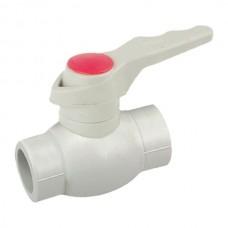 Кран кульовий PPR КШ (ручка) для гарячої води 63 (K0180.PRO) (KP0232)