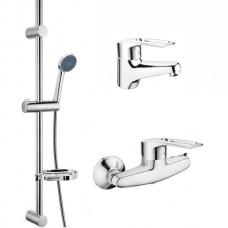 Комплект змішувачів для ванної CRON HANSBERG SET-2 (CR0843)