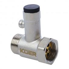 """Запобіжний клапан для бойлера 1/2"""" KR.1039 (KR2674)"""
