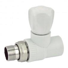 Вентиль радіаторний прямий PPR 25x3/4 (K0166.PRO) (KP0214)