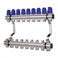 """Колекторний блок з термостатичними клапанами KOER KR.1100-09 1""""x9 WAYS (KR2635)"""