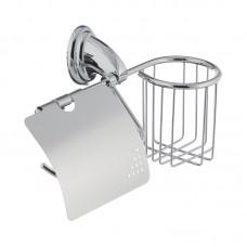 Бумагодержатель з кришкою і кошиком ZERIX LR1503-1 (LL1494)