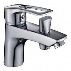 Змішувач для умивальника Haiba HANSBERG 001 з виходом для гігієни. лійки (HB0821)