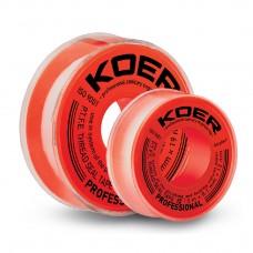 ФУМ стрічка для води KOER ST-11 10M*0.1 mm*12mm (KR2808)