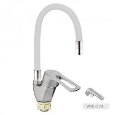 Смеситель для кухни Zerix YUB 279 White Reflector