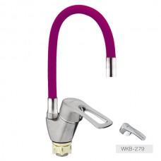 Смеситель для кухни Zerix YUB 279 Purple Reflector